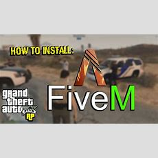 How To Install Fivem (gta Rp) + Trainer! (tutorial)  Youtube