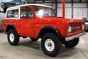 1976 Ford Bronco 18872 Miles Red Suv 302 V8 Manual For