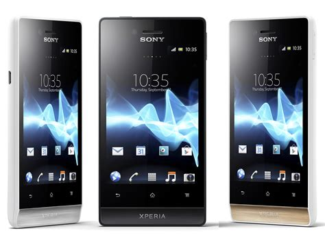 Sony Xperia miro Full Specifications And Price Details ...