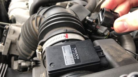 remove maf sensor    volvo    install