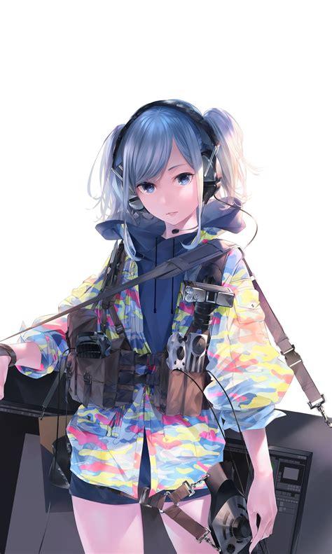 download 1440x2880 wallpaper original anime girl