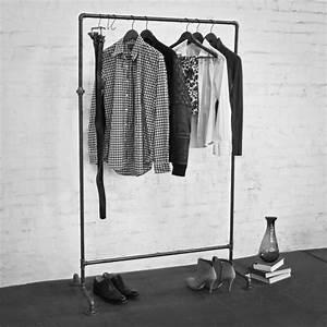 Kleiderständer Aus Metall : kleiderst nder kleiderstange garderobe metall stahl vintage industrial schwarz ebay ~ Michelbontemps.com Haus und Dekorationen