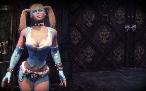 batman arkham city harley quinn mod r mika skin by new mugnelove100 on deviantart r mika