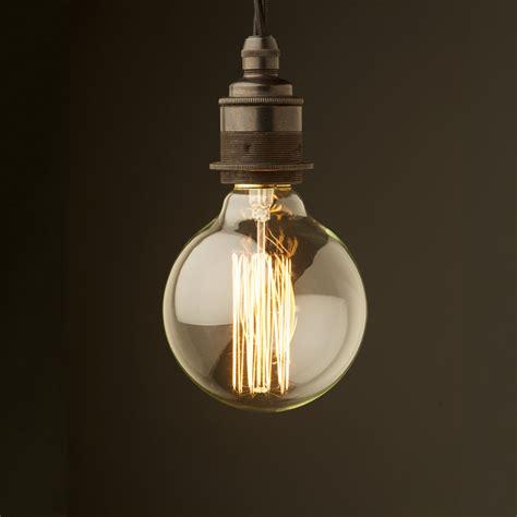 hanging light bulbs edison style light bulb e27 bronze fitting