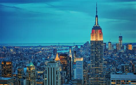 empire state building ny usa full desktop backgrounds