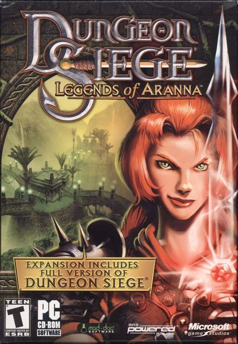 microsoft dungeon siege dungeon siege legends of aranna for windows 2003