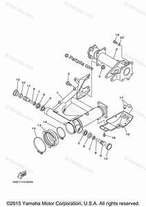 Yamaha Atv 2000 Oem Parts Diagram For Rear Arm
