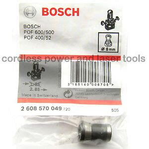 bosch 8mm collet chuck ggs 27 grinder pof 52 400 500 600 router 2 608 570 049