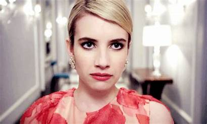 Roberts Emma Scream Queens Gifs Chanel Mujeres