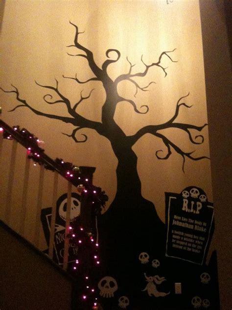 halloween creepy tree wall decal nightmare before by pinktoblue 119 00 halloween pinterest