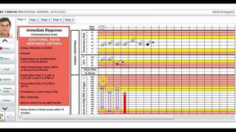 vitro overview features  electronic patient chart