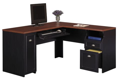 office desks corner corner desk  monitor platform