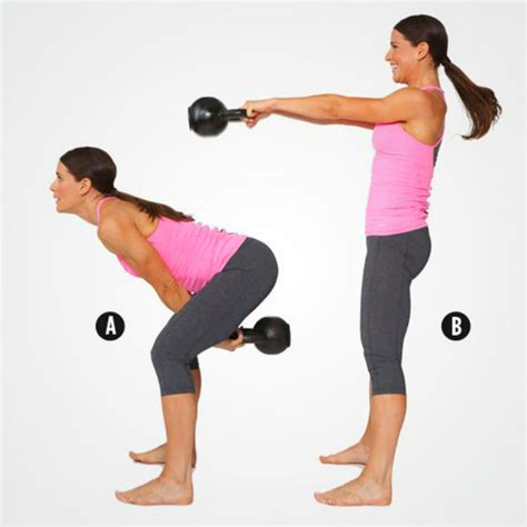 kettlebell swing exercises cardio running exercise muscles india