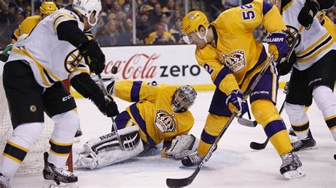 Kings Goalie Jonathan Quick Swipes Puck From Air With ...