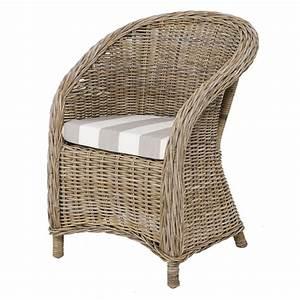Design Fauteuil Pas Cher : fauteuil club meuble en kubu fauteuil en kubu thomas rotin design ~ Teatrodelosmanantiales.com Idées de Décoration