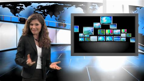 After Effects Green Screen Virtual Studio Examples From