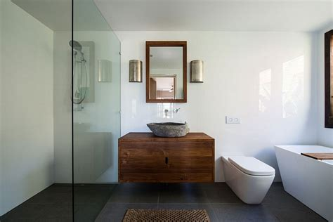 Modern Bathroom Australia by Small 70s Home In Australia Gets Creative Eco Friendly