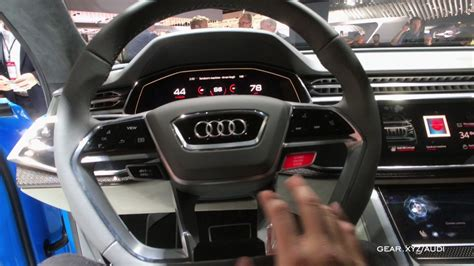 exclusive audi q8 concept interior youtube