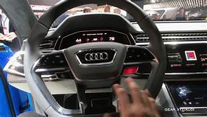 Audi Q8 Interieur : exclusive hands on audi q8 concept interior youtube ~ Medecine-chirurgie-esthetiques.com Avis de Voitures