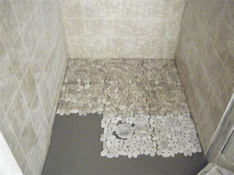 Mosaic Tile Shower Floor - floor impressive pebble shower floor and fascinating