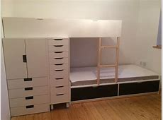 FLAXA Bunk Bed with lots of storage IKEA Hackers IKEA