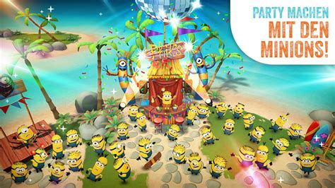 paradise app android minions paradise lustige spiele app f 252 r iphone android