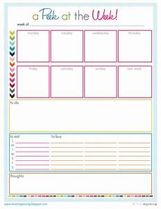 cool to do list template - to do list easy going organizer