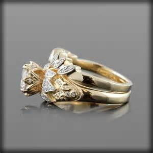 lotus engagement ring lotus flower engagement ring settings 4