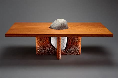 tsubo coffee table and wood furniture seth rolland