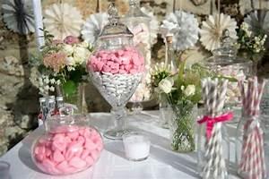Bar A Bonbon Mariage : candy bar rose candy bar chic candy bar mariage ~ Melissatoandfro.com Idées de Décoration