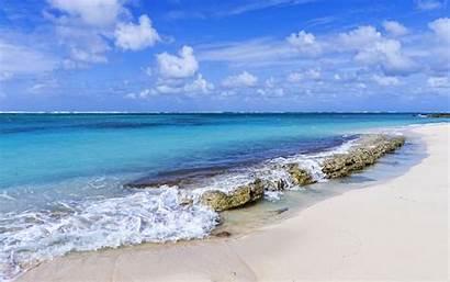 Beach Ocean Theme Sand Bahamas Scenes Wallpapers