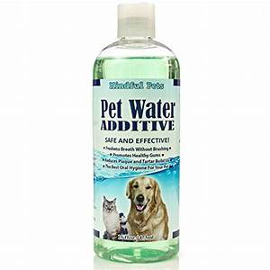 Pet water additive dental care pets bond for Dog dental water additive