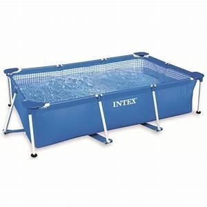 intex metal frame piscine tubulaire rectangulaire 26 x 1 With piscine autoportee rectangulaire intex
