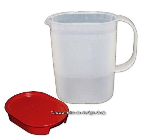 Tupperware Crescendo Jug 1 L vintage tupperware impressions jug with lid 1l