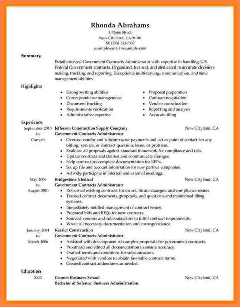 Usa Resume Builder by 8 Government Style Resume Statement Synonym