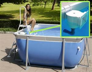 Kit Skimmer con gancio metallico per piscina fuori terra BSVillage