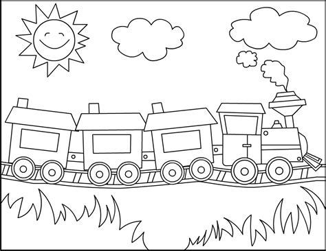 polar express coloring pages    print