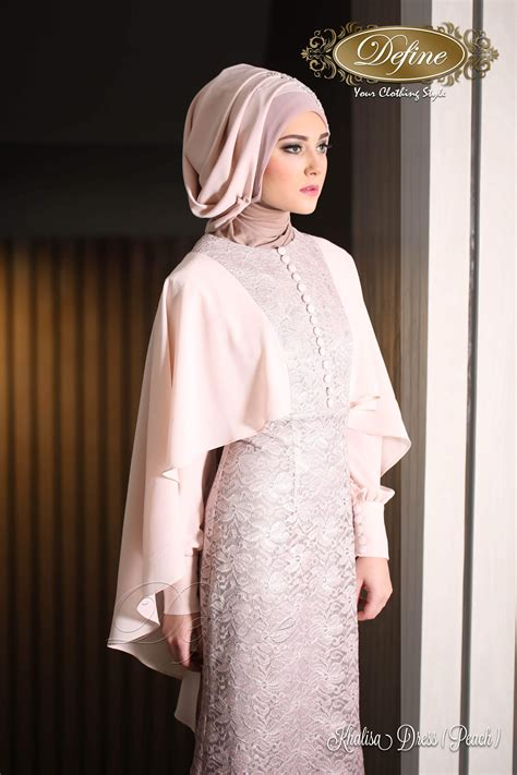 khalisa dress gamis pesta mewah  elegan  syari