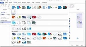 Microsoft Visio 2013 Themes