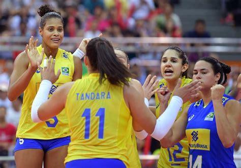 voleibol femenino brasileno triunfa en china noticias