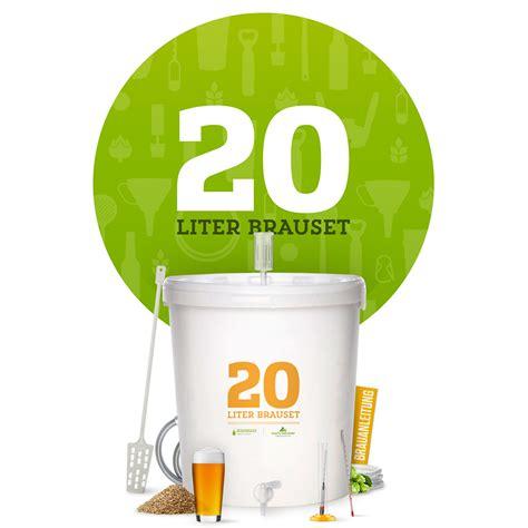 mülleimer 20 liter 20 liter brauset besserbrauer