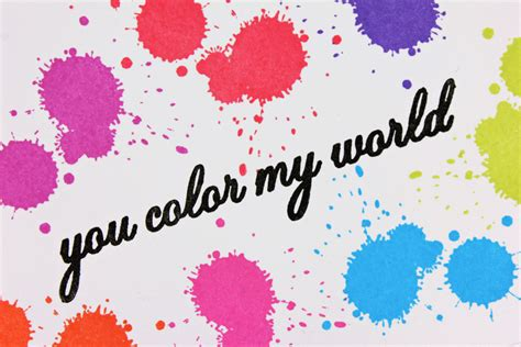Color My World by A Kept Casology Paint Color My World