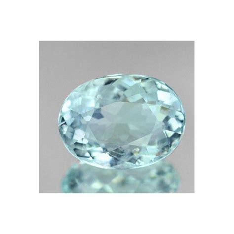 light blue gemstone 2 03 ct light blue aquamarine oval cut gemstone
