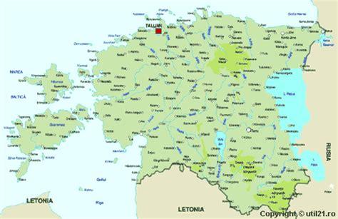 map  estonia maps worl atlas estonia map  maps