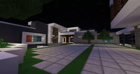 modern mansion  beverley hills minecraft house design
