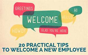 Welcome a New Employee: 20 Tips for Success