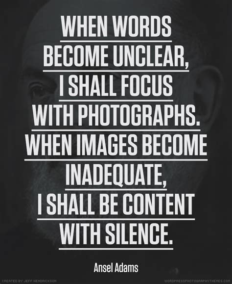 Ansel Adams Quotes. Quotesgram