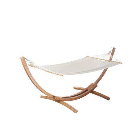 support chaise hamac support et toile de hamac santa jobek ecru leroy