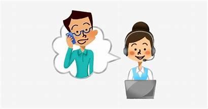 Call Center Client Clipart Operator Transparent Clip