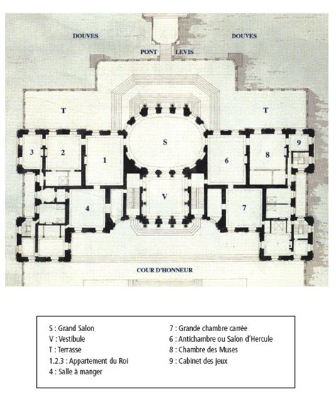 cuisines andré repères historiques du château de vaux le vicomte à maincy